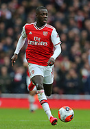 Arsenal's Nicolas Pepe during the Premier League match at the Emirates Stadium, London. Picture date: 7th March 2020. Picture credit should read: Paul Terry/Sportimage