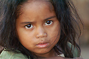 Madagascar, A portrait of a young Madagascan girl