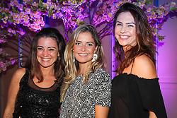 Fernanda Piva, Thais Vieira e Bianca Guedes na festa de inauguração do Viva Open Mall. FOTO: Dani Barcellos/ Agência Preview