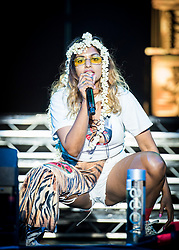 MIA (Mathangi Arulpragasam) performs live at Bestival 2018 Lulworth Castle - Wareham. Picture date: Sunday 5th August 2018. Photo credit should read: David Jensen/EMPICS Entertainment