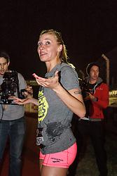 Beer Mile World Championships, Inaugural, Katie Mackey post-race