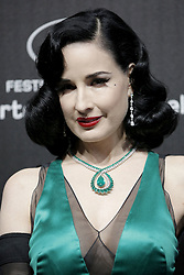 May 18, 2019 - Cannes, France - Dita von Teese. ''Love'' party Chopard in Cannes 2019.. Pictures: Laurent Guerin / EliotPress Set ID: 600943....239424 2000-01-01  Cannes France. (Credit Image: © Laurent Guerin/Starface via ZUMA Press)