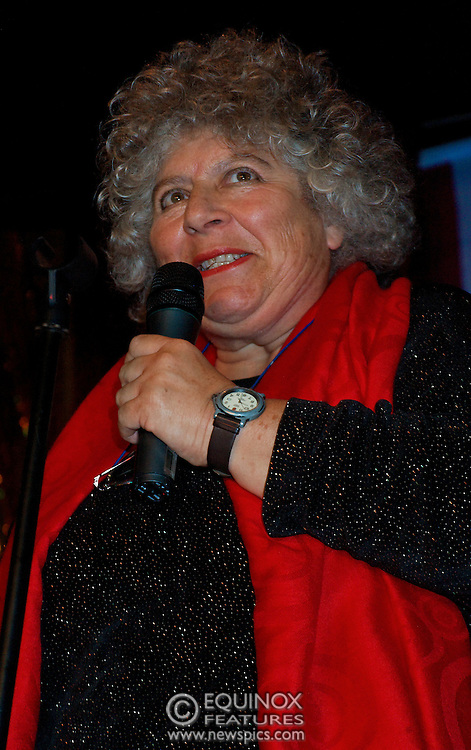 London, United Kingdom - 2 September 2009.Comedienne Ruby Wax and actresses Belinda Lang and Miriam Margolyes performing at gay bar the Royal Vauxhall Tavern, Vauxhall, London, England, UK on 2 September 2009..(photo by: EDWARD HIRST/EQUINOXFEATURES.COM).Picture Data:.Photographer: EDWARD HIRST.Copyright: ©2009 Equinox Licensing Ltd. +448700 780000.Contact: Equinox Features.Date Taken: 20090902.Time Taken: 211753+0000.www.newspics.com