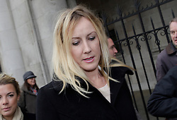 © Licensed to London News Pictures. 18/12/2012. London, U.K..Sally Roberts leaves the Royal Courts Of Justice today (18/12/12) during lunch recess. ROBERTS is seeking an injunction to prevent her son, Neon, from undergoing radiotherapy treatment for a brain tumour for which he has already had surgery. It was Adjourned from December 7..Photo credit : Rich Bowen/LNP