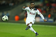 Danny Rose of Tottenham Hotspur in action.. UEFA Champions league match, group E, Tottenham Hotspur v CSKA Moscow at Wembley Stadium in London on Wednesday 7th December 2016.<br /> pic by John Patrick Fletcher, Andrew Orchard sports photography.