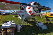 1937 Monocoupe 1105 Special from the North Cascades Vintage Aircraft Museum at the 2014 Hood River Fly-In at WAAAM.