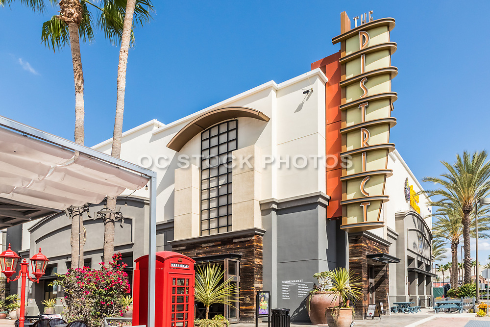 Shops and Restaurants at The District at Tustin Legacy