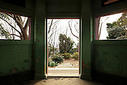 abandoned garden building