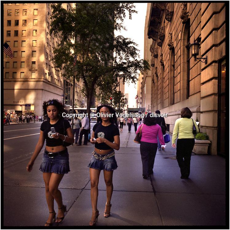 New York, 11.09.04. Manhattan, 5th Avenue.