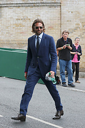 Pippa Middleton and celebrities leaving The All England Club in London after the men's finals. 16 Jul 2017 Pictured: Bradley Cooper. Photo credit: MEGA TheMegaAgency.com +1 888 505 6342