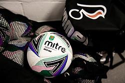 Carabao Cup matchball - Rogan/JMP - 24/09/2020 - Ashton Gate Stadium - Bristol, England - Bristol City v Aston Villa - Carabao Cup Third Round.