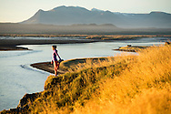 Lifestyle and adventure stock photography trip to Iceland. © Brett Wilhelm
