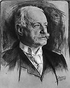 Bernhard Heinrich Karl Martin von Bulow (1849-1929) German Foreign Secretary 1897-1909. Responsible for Weltpolitik - colonial expansion. Reichschancellor 1900-1909.