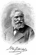 Max von Pettenkofer (1818-1901) German chemist and physician. Professor of Hygiene, Munich University, from 1865. Engraving.