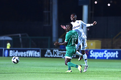 SOUTH AFRICA: GAUTENG: Bidvest Wits player Thabang Monare clash with Bloemfontein Celtic player Victor Letsoalo during the Absa Premiership at Bidvest Stadium Gauteng. <br />795<br />10.11.2018<br />Picture: Itumeleng English/African News Agency (ANA)