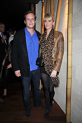 LADY EMILY COMPTON and JAMIE ALLSOPP at the launch of the new Chinawhite at 4 Winsley Street, London on 21st October 2009.
