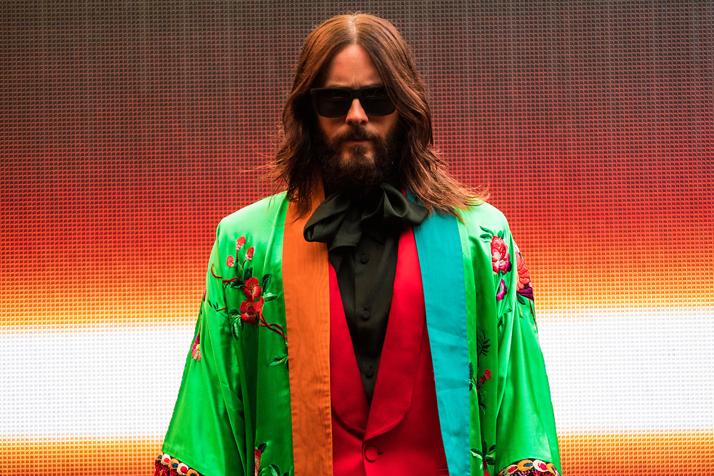 Thirty Seconds To Mars perform at the Huntington Bank Pavilion at Northerly Island in Chicago, IL on June 15, 2018.
