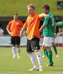 Kasper Kristensen (FC Helsingør) under kampen i 2. Division Øst mellem Boldklubben Avarta og FC Helsingør den 19. august 2012 i Espelunden. (Foto: Claus Birch).