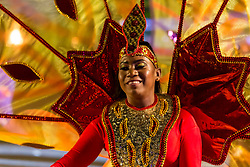 The 2019 Royal Edinburgh Military Tattoo launches its 2019 show Kaleidoscope. Staged on the Edinburgh Castle Esplanade between 2-24 August, the show marks its 69th year.<br /> Pictured: The Trinidad & Tobago Defence Steel Orchestra