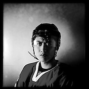 Ice Men Cometh…Wang Tiannan,19, China..An iPhone portrait series on young men competing in the 2012 IIHF Ice Hockey World Championships Division 3. The tournament  was contested by countries New Zealand, Iceland, China, Bulgaria and Turkey at Dunedin Ice Stadium. Dunedin, Otago, New Zealand. 17th January 2012. Photo Tim Clayton