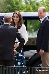 Monday, May 16th 2016. The Duke and Duchess of Cambridge William and Kate, accompanied by Prince William attend the launch of mental health charity Heads Together at Queen Elizabeth Olympic Park in London.
