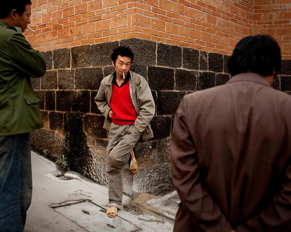 Local worthies, Heshun town, Yunnan province, China.