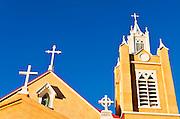 San Felipe de Neri Church, Old Town, Albuquerque, NM.