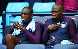 Yaya Toure and Eliaquim Mangala of Manchester City - Mandatory by-line: Matt McNulty/JMP - 14/10/2017 - FOOTBALL - Etihad Stadium - Manchester, England - Manchester City v Stoke City - Premier League