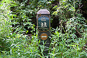 Trails in the Mint Springs park located in Crozet, Va. Credit Image: © Andrew Shurtleff