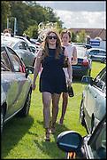 BIANCA SHAW; TARA LEWIS, Ebor Festival, York Races, 20 August 2014