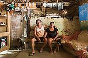 Portrait of a couple from the Wapishana indigenous community of Katoonarib in South Rupununi (Guyana).