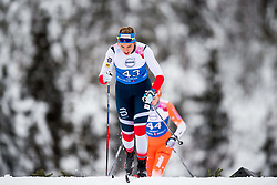 January 11, 2018 - GSbu, NORWAY - 180111 Julie Stendahl Spets competes in the women's sprint classic technique qualification during the Norwegian Championship on January 11, 2018 in GÅ'sbu..Photo: Jon Olav Nesvold / BILDBYRN / kod JE / 160126 (Credit Image: © Jon Olav Nesvold/Bildbyran via ZUMA Wire)