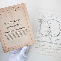 Ernest Shackleton CV