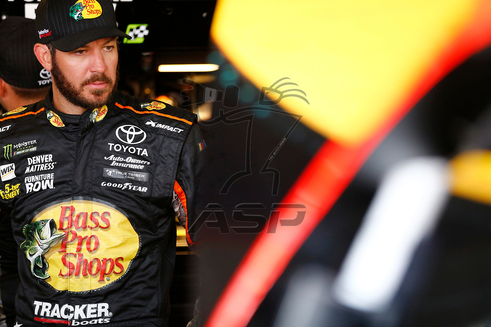 April 29, 2017 - Richmond, Virginia, USA: The Monster Energy NASCAR Cup Series teams take to the track to practice for the Toyota Owners 400 at Richmond International Speedway in Richmond, Virginia.