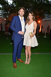ALEX JONES and CHARLIE THOMSON at the Glamour Women of The Year Awards held in Berkeley Square, London on 2nd June 2015.