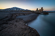 Lóndrangar in west-Iceland.