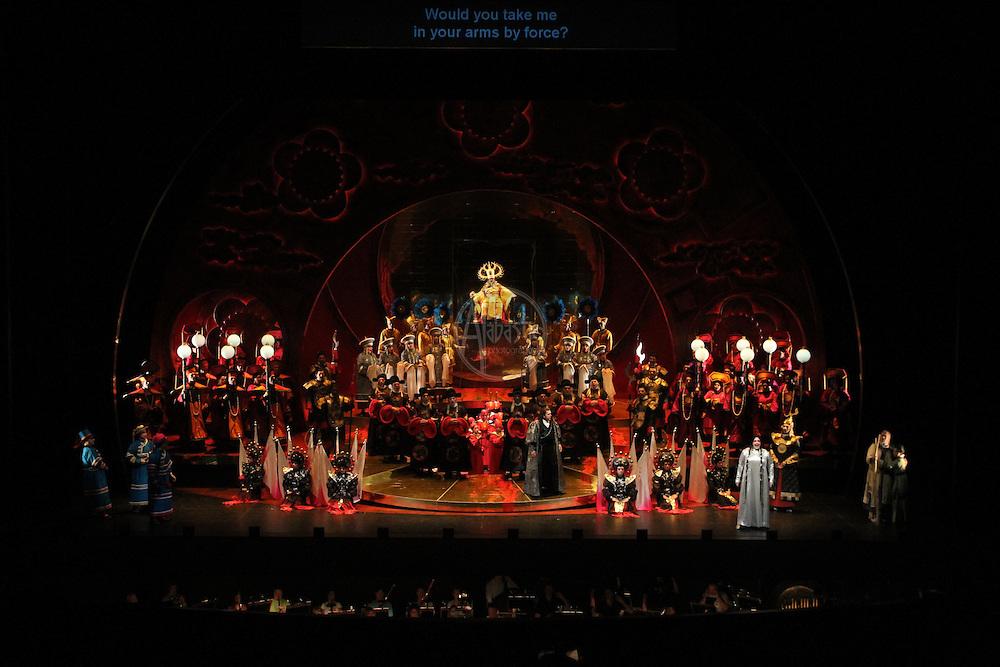 Seattle Opera Turandot Act II.
