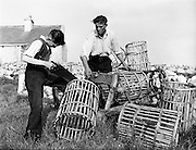 Carna.  Boat Bulding with the Cloherty family..14/05/1959