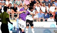 Fotball , 23. juli  2015 ,   Europa League - Qualification<br /> Odd - Shamrock Rovers<br /> Brandon Miele , Rovers<br /> Lars-Kristian Eriksen , Odd