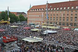 05.06.2010, Rathaus, Kiel, GER, 1. HBL, Champions Party THW Kiel, im Bild Kieler Rathausplatz   EXPA Pictures © 2010, PhotoCredit: EXPA/ nph/  Frisch / SPORTIDA PHOTO AGENCY