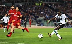 Sadio Mane of Liverpool scores his sides first goal - Mandatory by-line: Matt McNulty/JMP - 02/05/2018 - FOOTBALL - Stadio Olimpico - Rome,  - Roma v Liverpool - UEFA Champions League Semi Final, 2nd Leg