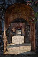 """The grounds of the Imperial City are surrounded by walls called """"the Citadel"""".  It is  similar in design to the Forbidden City in Beijing. The enclosure was once reserved for the Vietnamese imperial family but now the Citadel is a UNESCO World Heritage site open to all."""