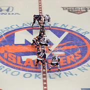 NHL Hockey: Chicago Blackhawks vs. New York Islanders<br /> game action<br /> Barclays Center/Brooklyn, NY<br /> 10/9/2015<br /> X160003 TK1<br /> Credit: Tim Clayton