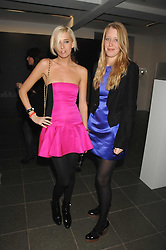 Left to right, the HON.SOPHIA HESKETH and ALICE ROTHSCHILD at a party to celebrate the launch of DKNY's new fragrance for women Delicious, held at The Serpentine Gallery, Kensington gardens, London on 12th December 2007.<br /><br />NON EXCLUSIVE - WORLD RIGHTS