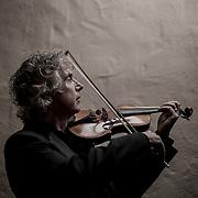 Carmel Bach Festival concertmaster Peter Hampton.