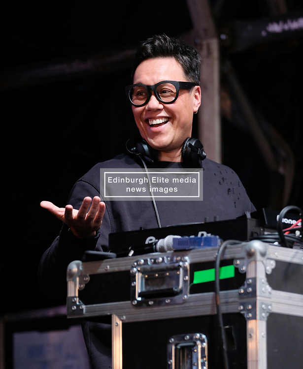 Party at the Palace, Linlithgow, Saturday 12th August 2017<br /> <br /> Got Wan performs a DJ set at Party at the Palace <br /> <br /> (c) Alex Todd | Edinburgh Elite media