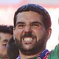 Football - 2013 Championship Play-Off Final - Crystal Palace vs. Watford<br /> Crystal Palace celebrations<br /> Julian Speroni with the trophy at Wembley.