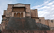 The Temple of  Koricancha in Cusco Peru, It was the the temple of the sun during the Inca emprire but the spanish destroy it to built on top the Dominican Convent of Santo Domingo around the year 1540.