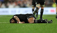 Rugby Union - 2017 British & Irish Lions Tour of New Zealand - Second Test: New Zealand vs. British & Irish Lions<br /> <br /> Waisake Naholo of The All Blacks is knocked out by Sean O'Brien of The British and Irish Lions at Westpac Stadium, Wellington.<br /> <br /> COLORSPORT/LYNNE CAMERON
