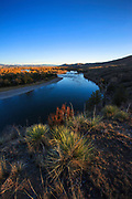 Fall on the Missouri River near Townsend Montana.